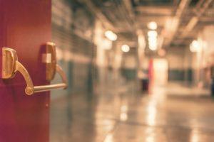 hospital,door