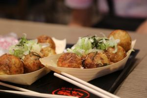 Takoyaki,food