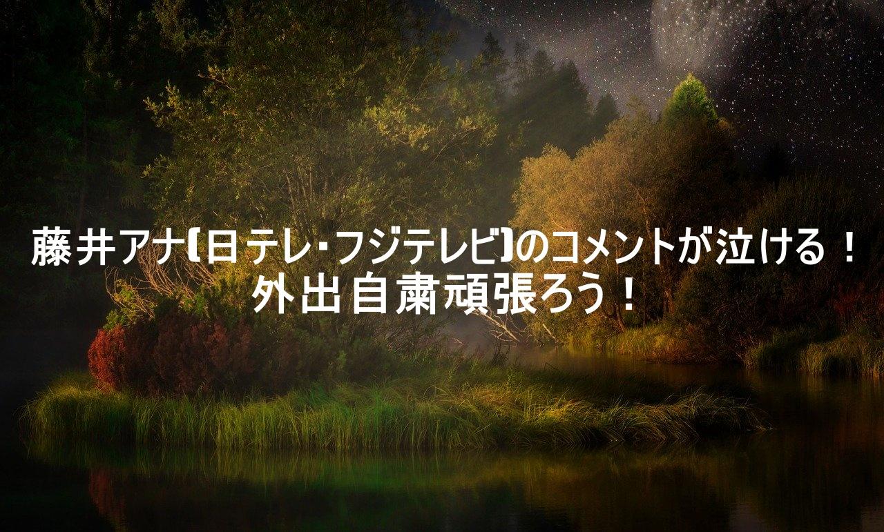 アナ 奥さん 悠太 富川 の